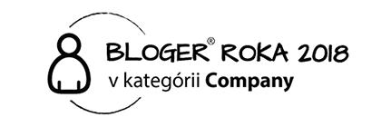 Vyhrali sme v kategórii COMPANY - Bloger Roka 2018