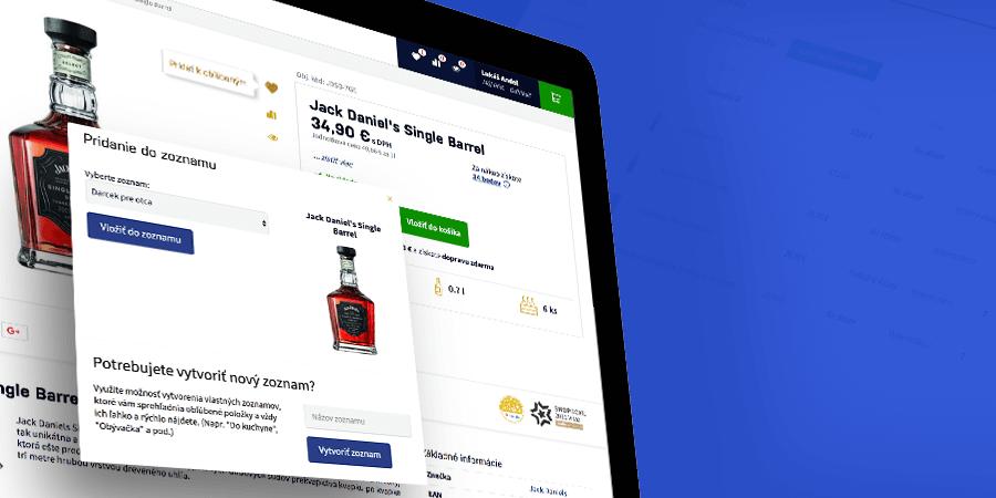 Wishlist – výkonná funkcia pre majiteľov e-shopov
