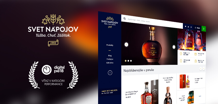 CASE STUDY Svet nápojov [World of beverages] in the online world