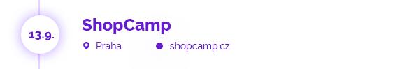 ShopCamp, 13.9., Praha