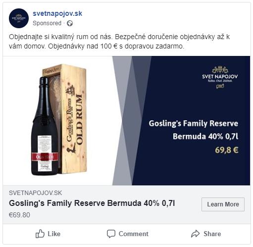 Facebook dynamický remarketing