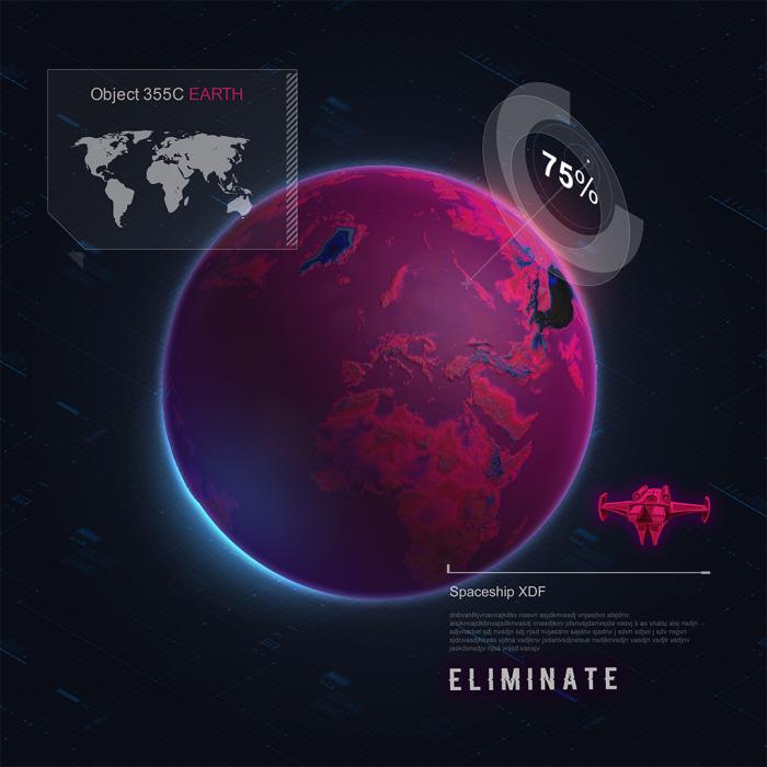 Práca v móde 3D Zem