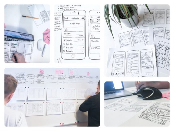 Low-fidelity prototypovanie