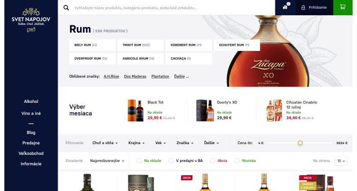 Odporúčanie produktov