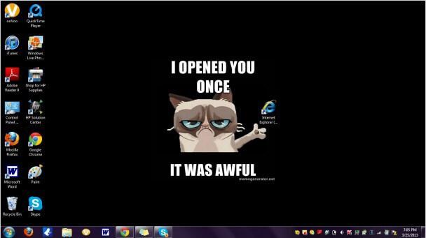 Internet Explorer, zdroj: wallpapersafari.com