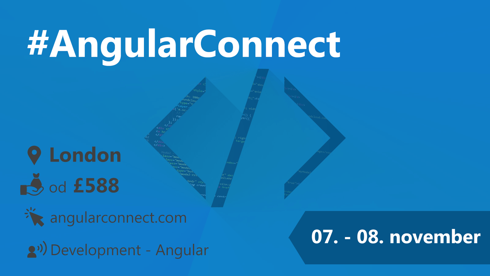 #AngularConnect 7-8.11