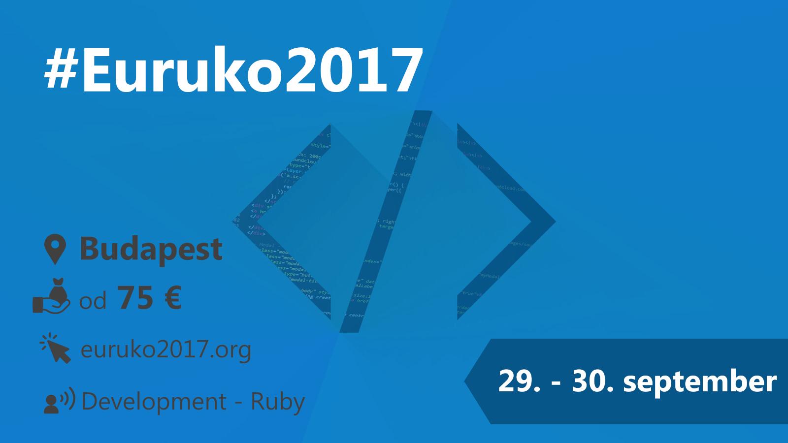 #Euruko2017 29-30.9