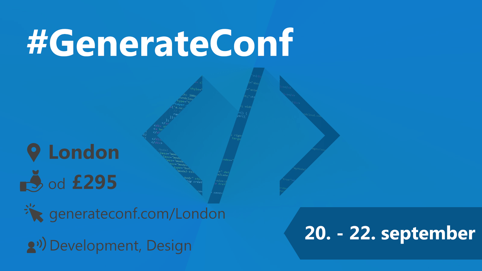 #GenerateConf 20-22.9