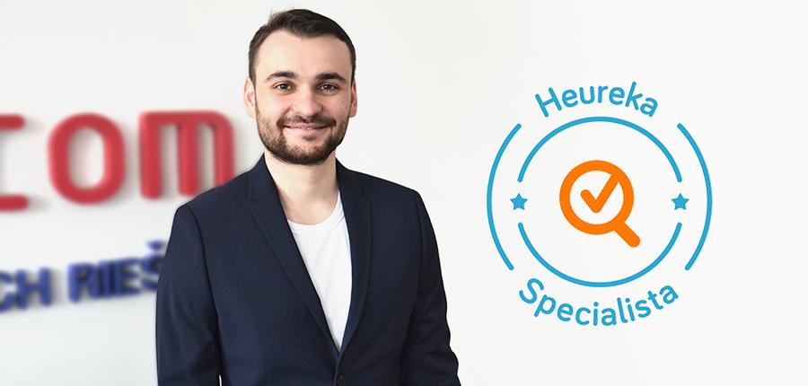 Prvý certifikovaný Heureka špecialista na Slovensku