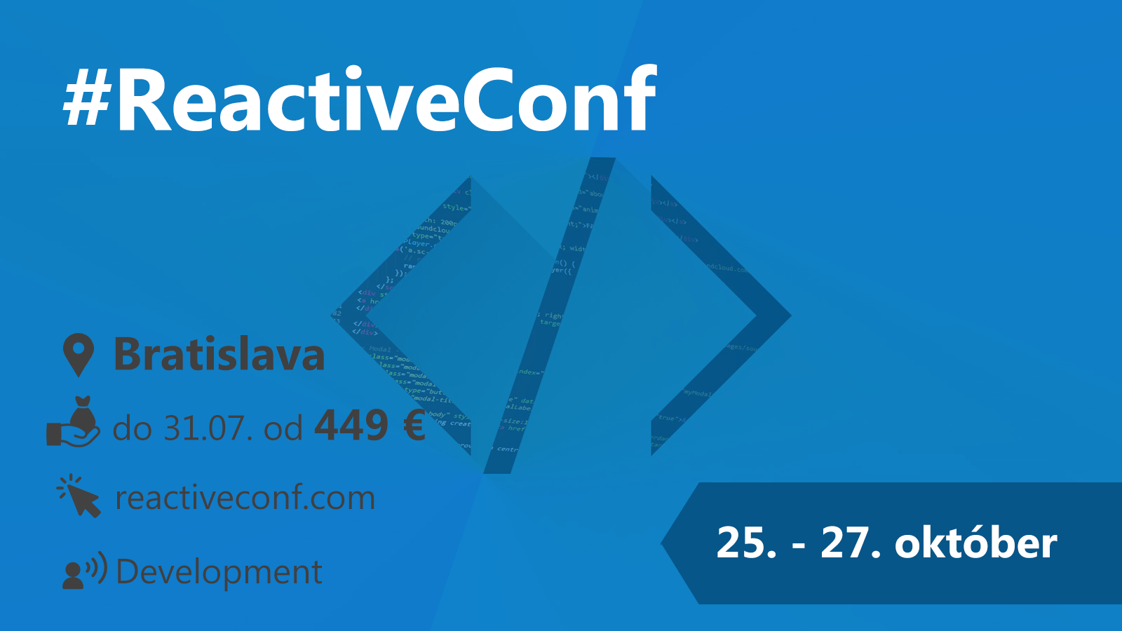 #ReactiveConf 25.-27. 10