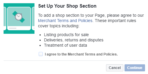 Súhlas s podmienkami Facebooku