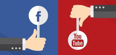 Pochová Facebook video YouTube video? Alebo naopak?